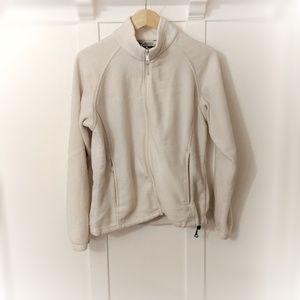 Winter White Columbia Zip up Fleece 🎿❄️🧣